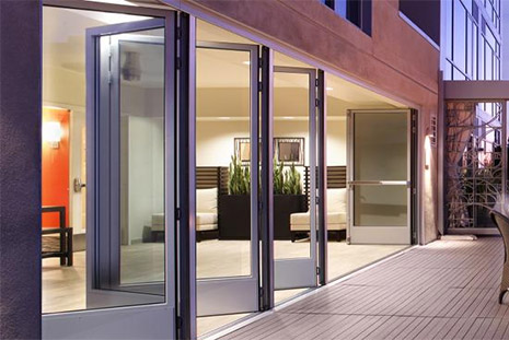 Nanawall Fold Out Doors These High Tech Innovative Telescoping Doors