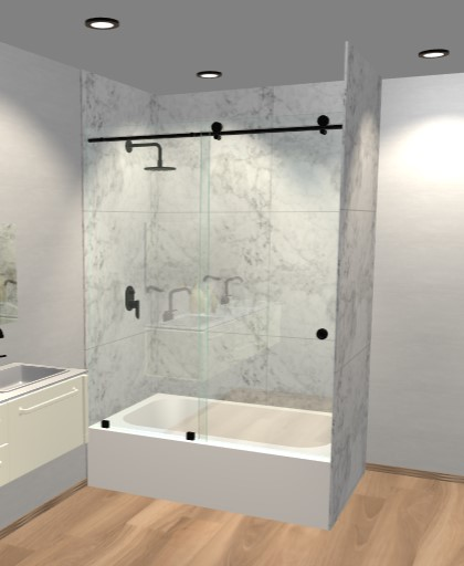 Glass shower doors dulles glass bathtub doors planetlyrics Image collections