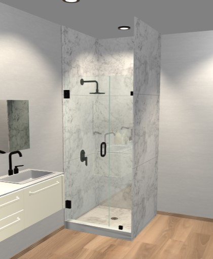Door and Panel Shower Doors