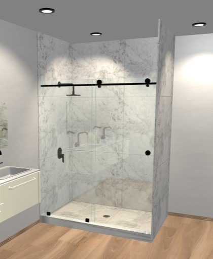 Metro Sliding Shower Doors