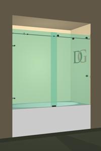 Right Open Metro Bathtub Door