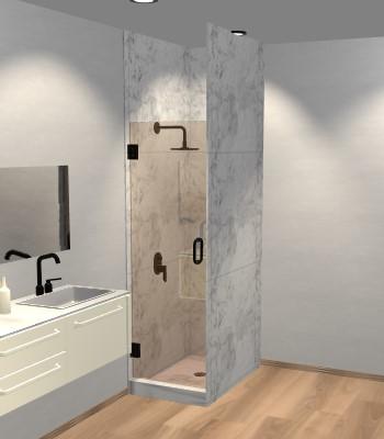 Right Open Single Shower Door