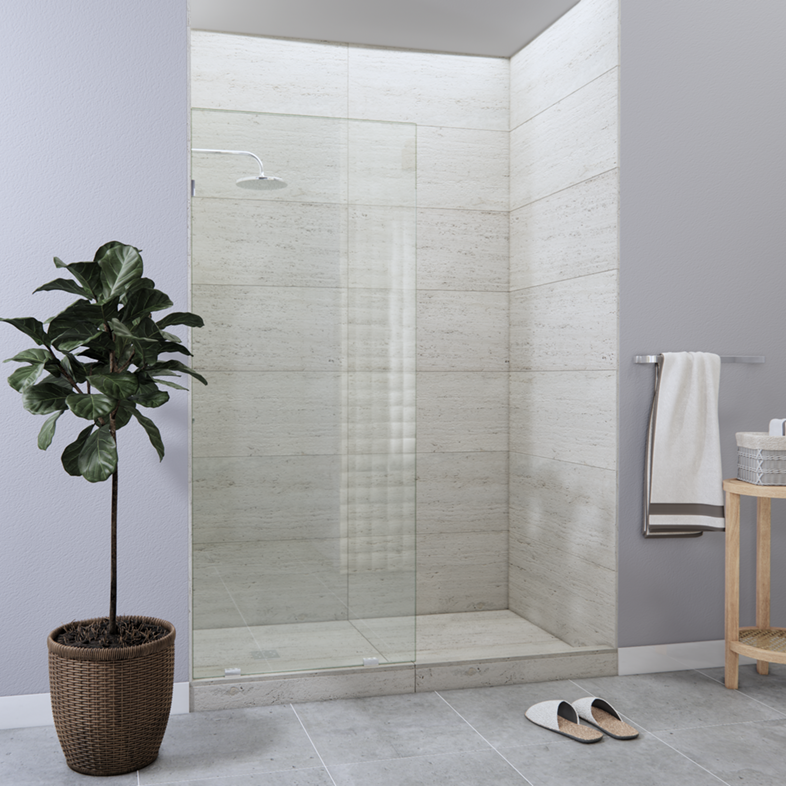 Right Open Single Shower Screen