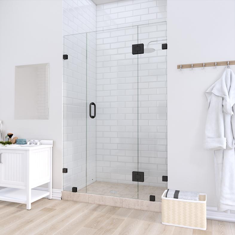Left Open Door & Panel Shower Door