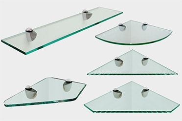 Glass Shelf Types
