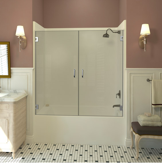 Marvelous A Single Swinging Bathtub Door Is A Great Choice If You Have A Smaller  Space But Still Have Room For A Door To Swing Open. This Single Bathtub Door  Is ...