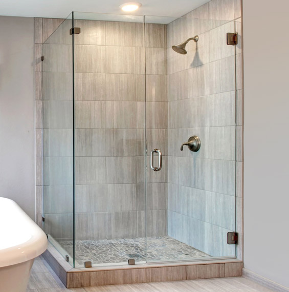 Canto Corner Glass Shower Doors Dulles Glass