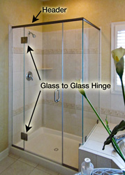 Glass to Glass Hinge