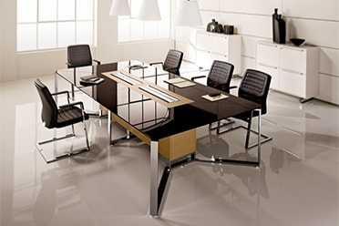 Glass Table Tops for Conference Room