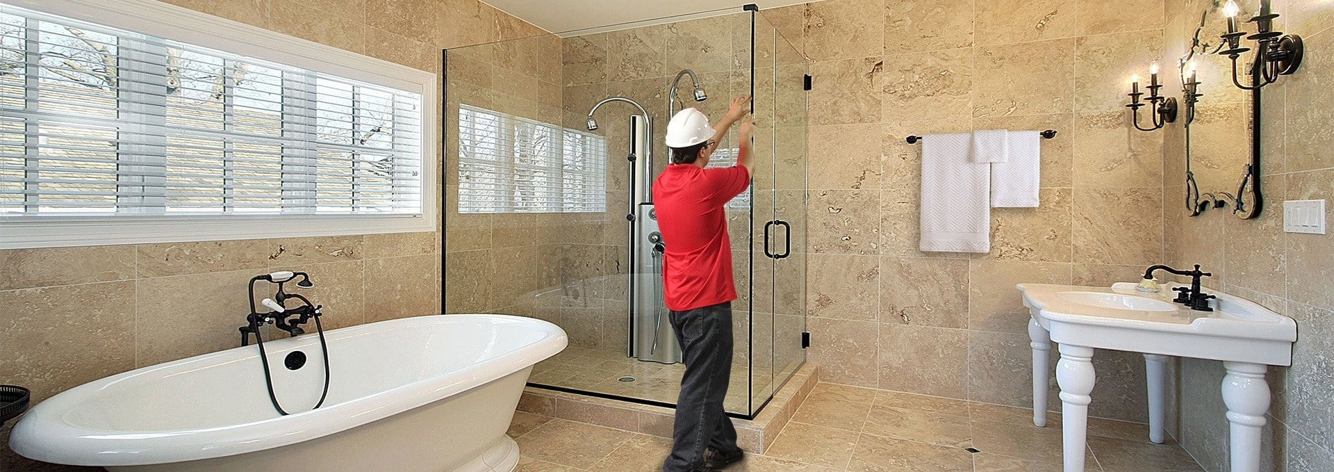 Shower Doors Mirrors Installed In Va Md Dc Dulles Glass