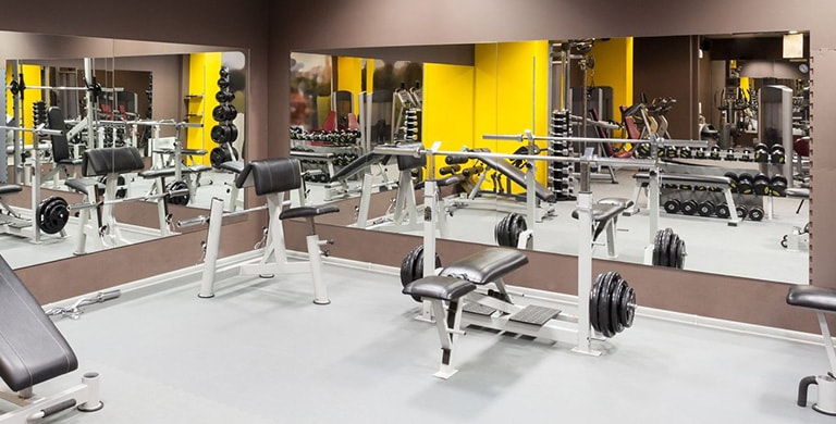 Gym mirrors home ideas