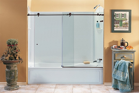 Sliding Glass Bathtub Doors